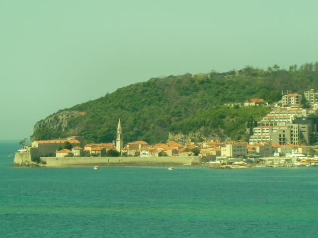 モンテネグロのリゾートタウン、ブドヴァ