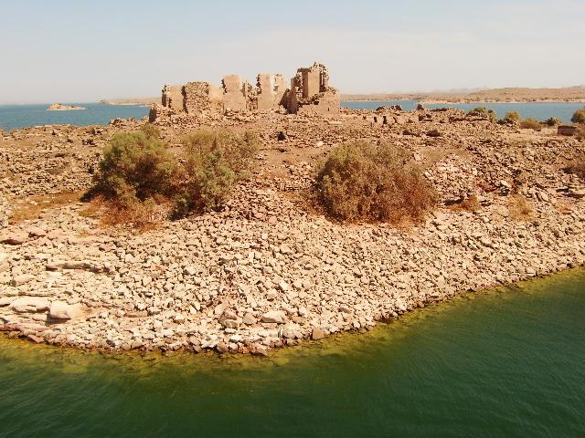 エジプト、ナセル湖の水没を逃れた遺跡達Vol.1