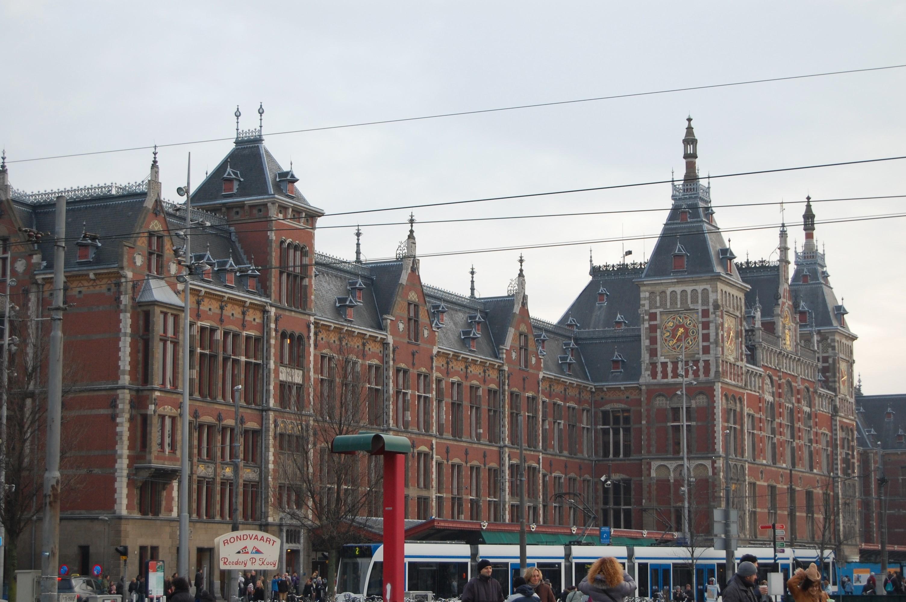 束の間のマルチポットなアムステルダムの街歩き