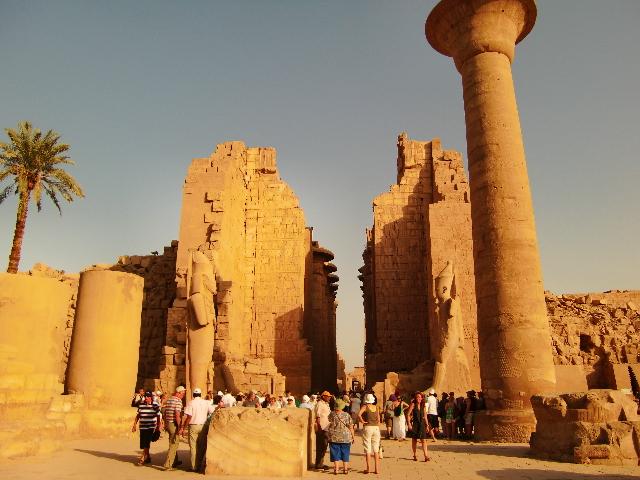 Wow・・・圧巻!古代ルクソールの神殿