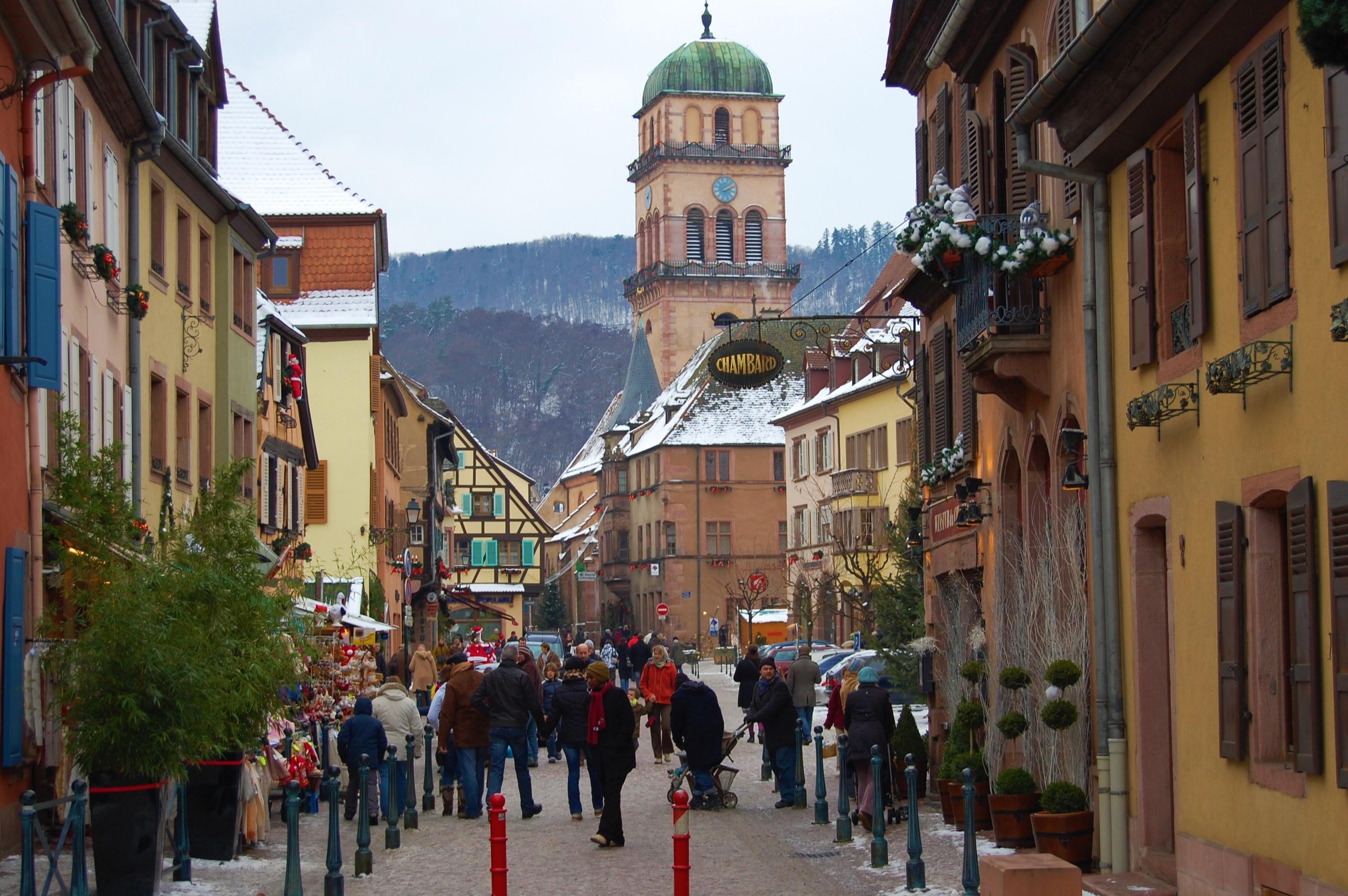 クリスマス前に訪れたい!アルザスの可愛い村~Kayserbergカイゼルブルグ~