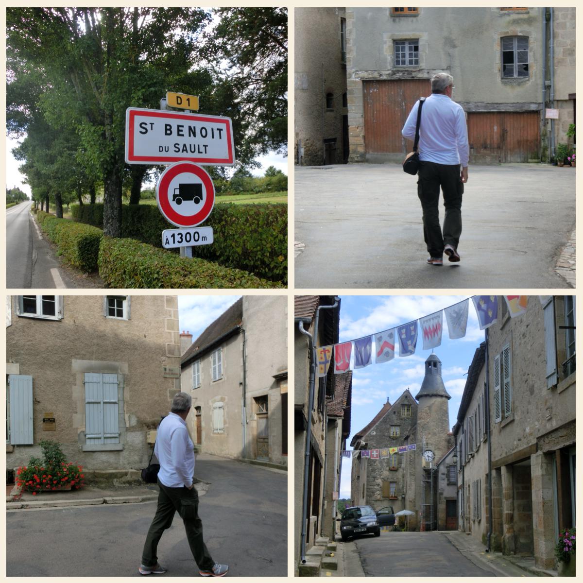 リムーザン地方の美しい村St.Benoit du SALUT