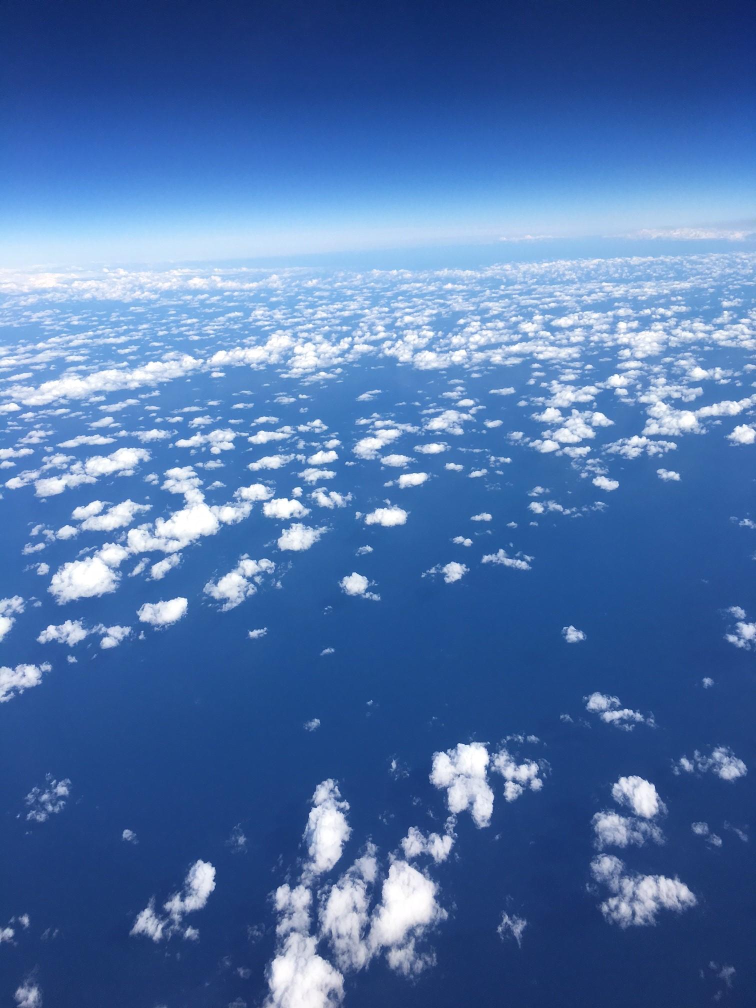 ドバイからヨーロッパへ!空から見た風景
