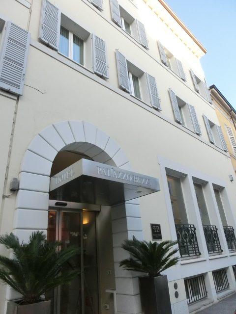 ラヴェンナでのホテルはPallazo Bezzi Hotel