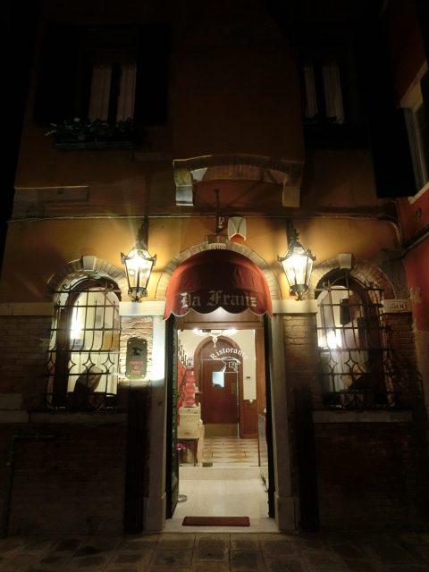 ホテルダニエリの窓から見るヴェネツィアの景色