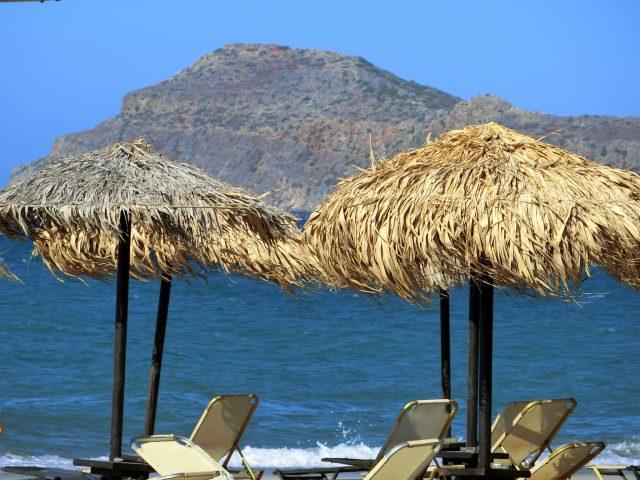 クレタ島ハニアのビーチ@ミノアパレスリゾート&スパ