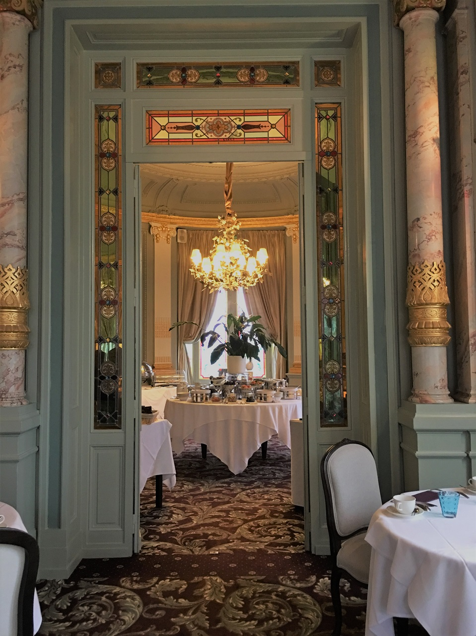 サンテミリオンのシャトーホテル、シャトーグランバライユでのお食事
