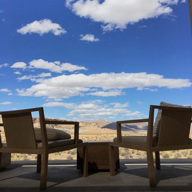 Amangiri アメリカ西部の壮大な渓谷に佇む隠家アマンギリにチェックイン!