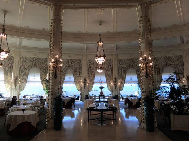 ビアリッツのパラスホテル、オテル デュ パレにチェックイン♪