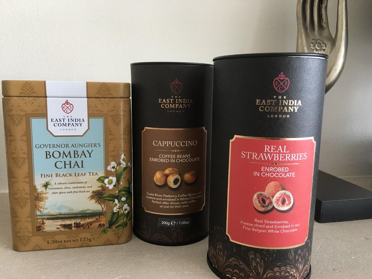 ロンドンの東インド会社でチャイ用の茶葉とチョコレートを買う!