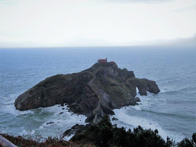 スペインバスクの絶景地サン ファン デ ガツェルガチェ
