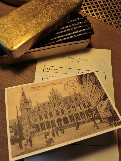 ゲントの旧郵便局を改装した1898 THE POSTのジュニアスィートに滞在