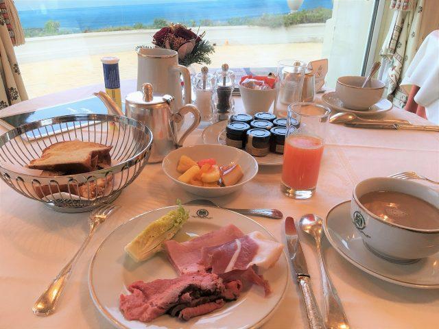 デザートが豊富なオテルデュパレの朝食