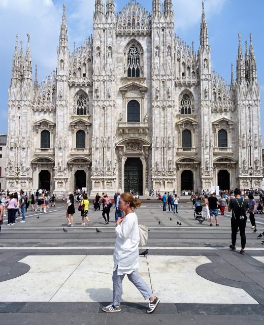 ミラノに来たならドゥオモのテラスに上ってみよう!