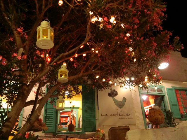 可愛いBarも沢山!シフノス島 夜のアポロニアの町