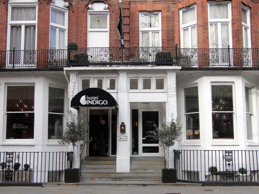 ホテル インディゴ ロンドン ケンジントンのジュニアスィートに滞在