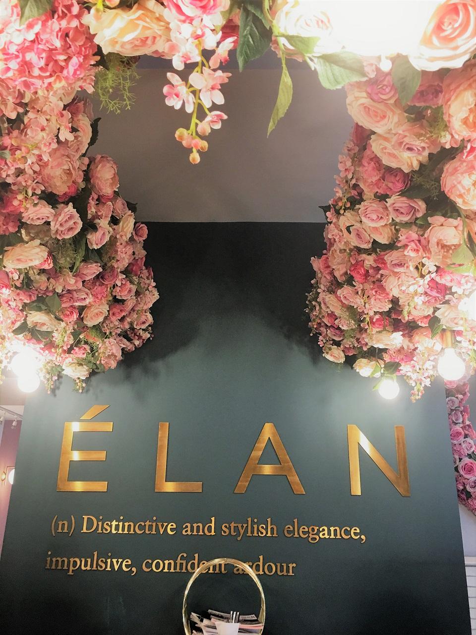 可愛い♪ピンクでフローリッシュ!ロンドンのフォトジェニックなELAN Cafe