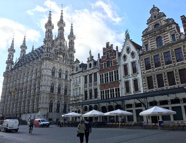 ベルギーの学園都市ルーヴェンの街歩き
