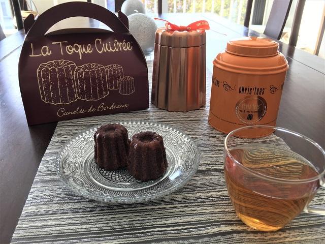 ボルドー土産にオススメのカヌレとカヌレ風味の紅茶Chris'teas