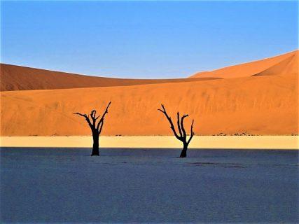 砂丘と太陽光のいたずら、デッドフレイが一番美しい時