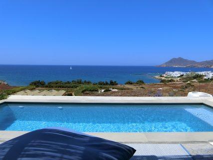 ミロス島のホテル ブリーズ、プライヴェートプール付きのお部屋