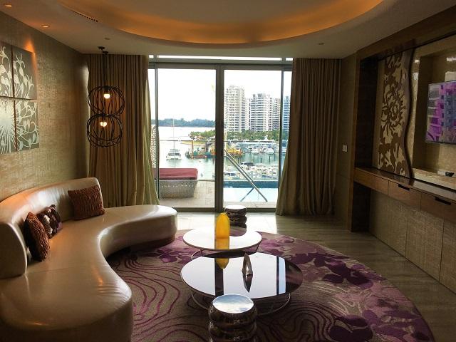 Wシンガポール セントーサ コーブのファンタスティック スイートのお部屋に滞在