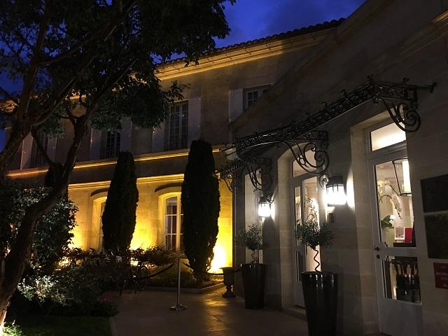 楽しみにしていたミシュラン2☆のLa Table de Pavie@Hotel de Pavie