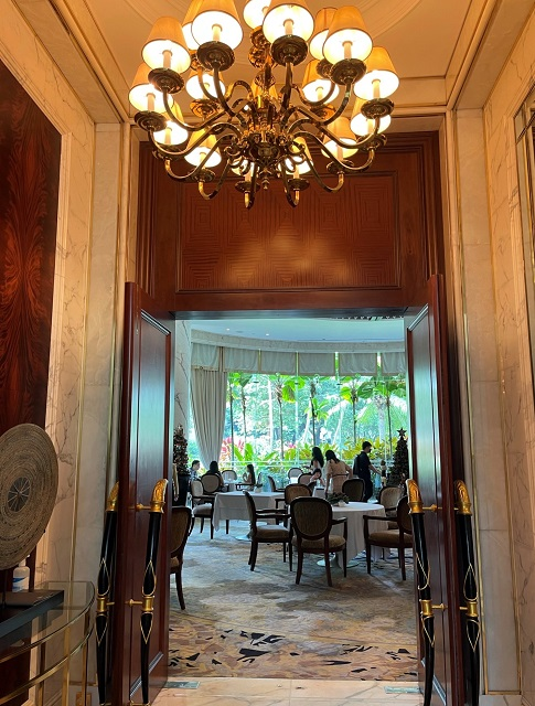 シャングリラ ホテル シンガポール,ヴァレーウイングでの朝ごはん
