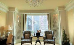 シャングリラ ホテル シンガポール、ヴァレーウイングのスイートルームに滞在