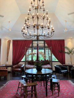 シンガポールの緑に囲まれたコロニアルな館Villa Samadhiにチェックイン♪