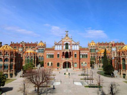 世界で一番美しいは本当だった!バルセロナにあるサンパウ病院