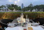 ウェスティン シンガポールでシーフード アフタヌーンティー