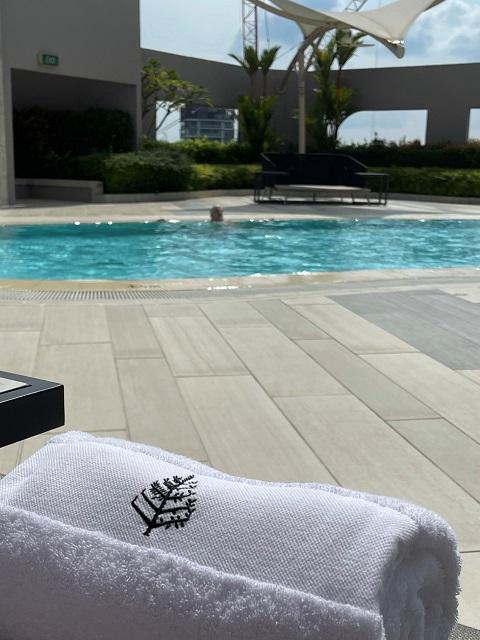 フォーシーズンズ ホテル シンガポールのSPAとプール